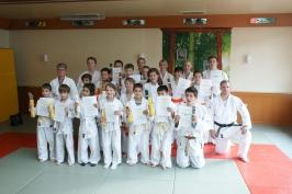 Judo-Prüfungen